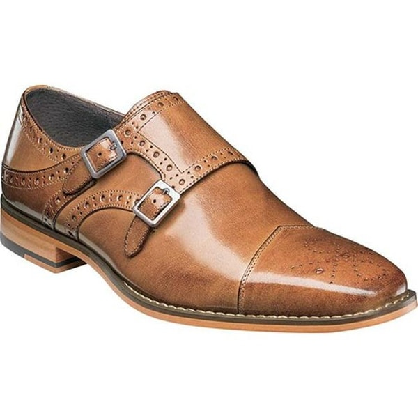 Shop Stacy Adams Men S Tayton Cap Toe Double Monk Strap