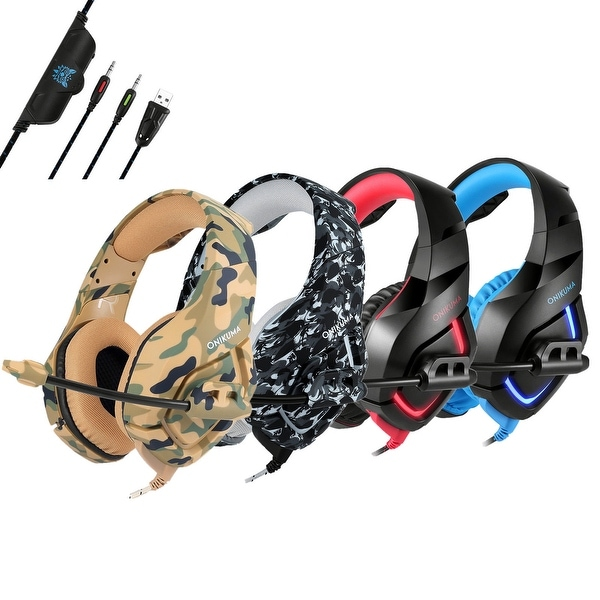 Shop ONIKUMA K1 Stereo Gaming Headset - On Sale - Ships To