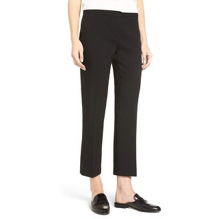 Vince Camuto NEW Black Women's Size 2X26 Front-Tab Dress Pants Stretch