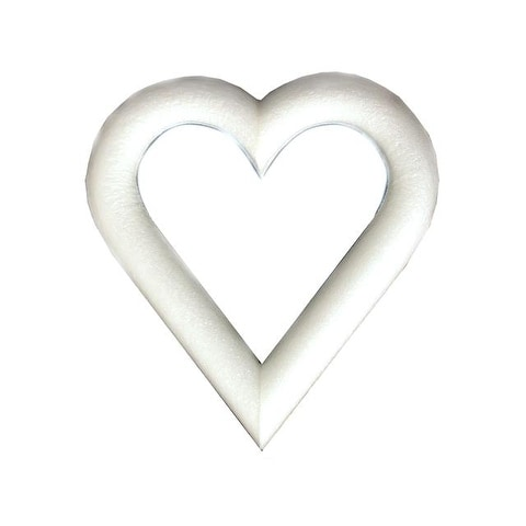 Floracraft Heart Extruded Bulk 9x1""