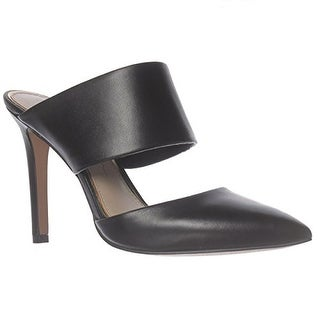 Jessica Simpson Chandra Cut-Out Pointed Toe Mule Heels - Black