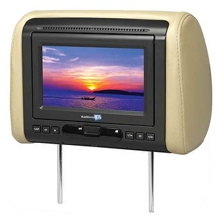"""Audiovox 7"""" Headrest Monitor(sold each) with DVD/HDMI output 3 Covers"""