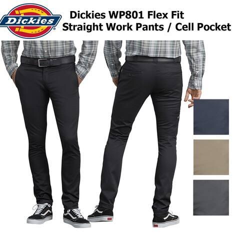 Dickies Men's Flex Skinny Straight Fit Work Pants