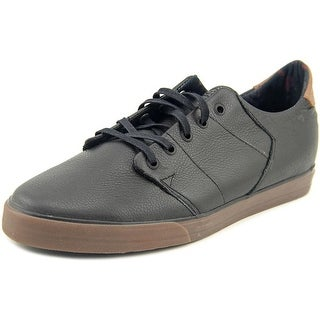 Globe Los Angered Low Men Round Toe Leather Black Skate Shoe