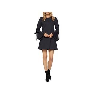 Sanctuary Womens Giovanna Sweatshirt Dress Bell Sleeves Above Knee