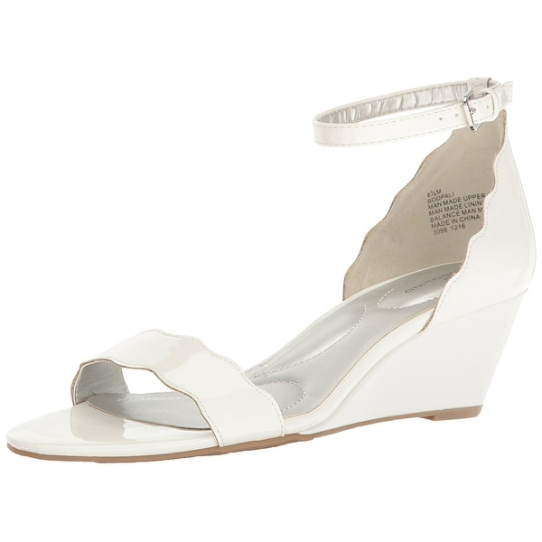 Bandolino Womens Opali Open Toe Casual Wedged Sandals