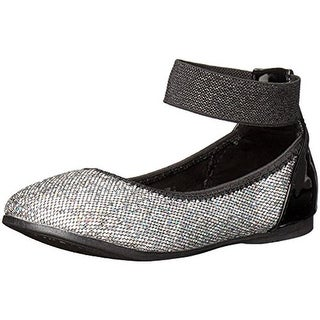 Kenneth Cole Reaction Girls Tap 2 Ballet Flats Glitter