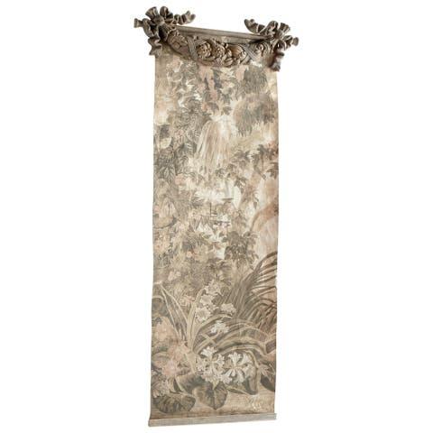 "Cyan Design 09256 Havenwood 82-1/2"" Tall Botanical Tapestry"