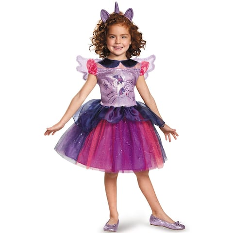 Disguise Twilight Sparkle Tutu Deluxe Child Costume - Purple/Pink