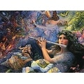 ''Enchanted Flute'' by Josephine Wall Fantasy Art Print (24 x 36 in.) - Thumbnail 0