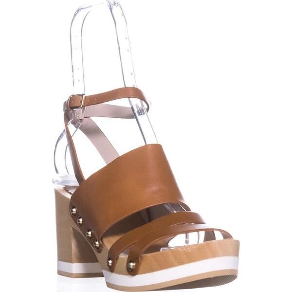 Furla Gina Platform Clog Sandals, Naturale - 9 us / 39.5 eu
