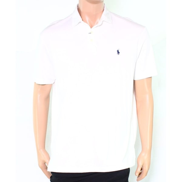 e46c526e Shop Polo Ralph Lauren NEW White Mens Size XL Embroidered Logo Polo ...