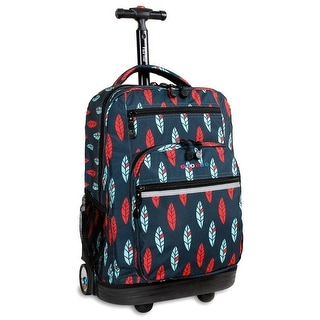 J World New York Sundance Rolling Backpack, Indi