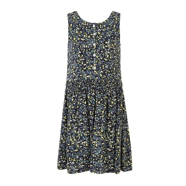 Shop Richie House Girls Yellow Spot Leisure Dress with Elastic Waist - Free  Shipping On Orders Over  45 - Overstock.com - 18168373 1a3a93c4fa85