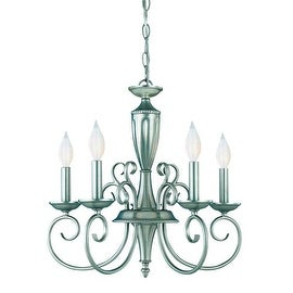 Savoy House KP-1-5005-5 5 Light Up Lighting Chandelier from the Spirit Collection