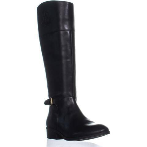 Lauren Ralph Lauren Madisen Knee High Boots, Black
