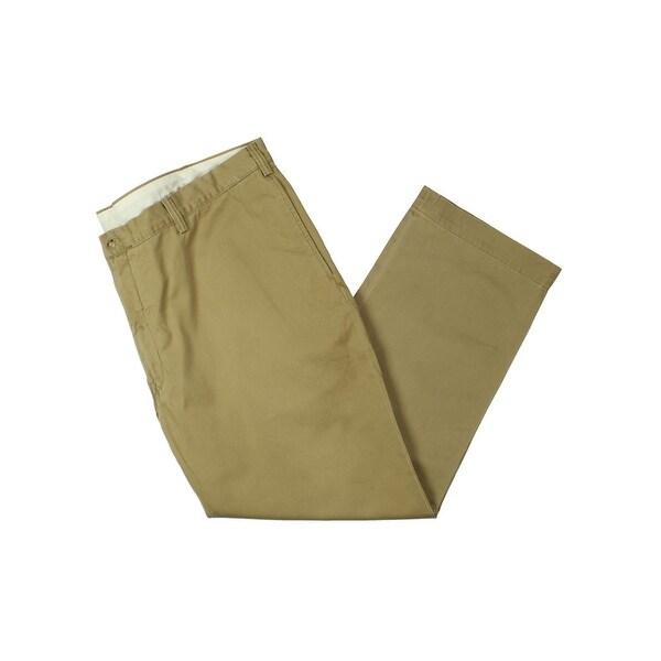 49d4a70bc13a Shop Polo Ralph Lauren Mens Big   Tall Khaki Pants Twill Classic Fit ...