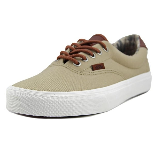 Vans Era 59 Women Round Toe Canvas Tan Sneakers