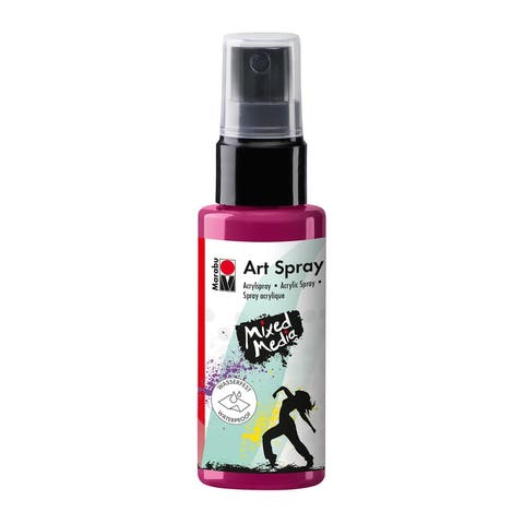 Marabu m12099005005 art spray raspberry