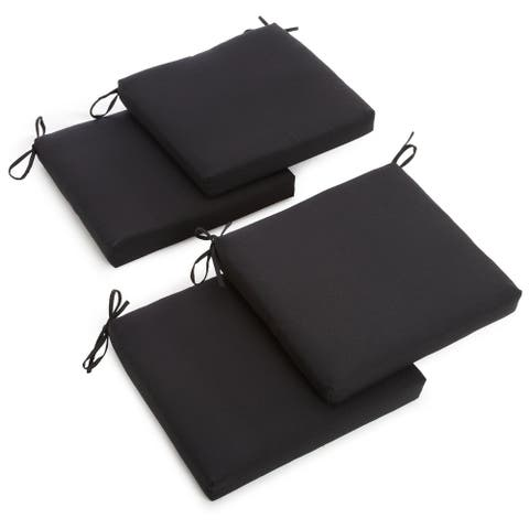 Blazing Needles 20-inch Indoor Chair Cushion (Set of 4)