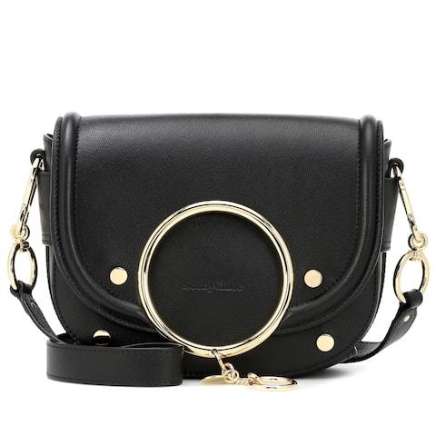 See by Chloe Womens Black Crossbody Shoulder Handbag