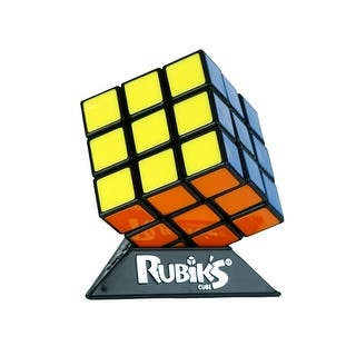 Rubik's Cube with Display Stand|https://ak1.ostkcdn.com/images/products/is/images/direct/70520cc1099792c87ce88dd3218088740f82809d/Rubik%27s-Cube-with-Display-Stand.jpg?impolicy=medium