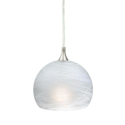 "Vaxcel Lighting PD57121 Milano 1 Light 5.75"" Mini Pendant - Thumbnail 0"