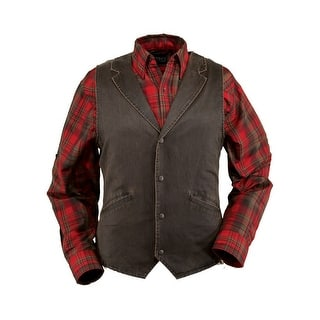 Outback Trading Vest Mens Arkansas Vintage Effect Cotton Brown 2835|https://ak1.ostkcdn.com/images/products/is/images/direct/705475e620abd898a887397e7509b8c75c2fb1c2/Outback-Trading-Vest-Mens-Arkansas-Vintage-Effect-Cotton-Brown-2835.jpg?impolicy=medium
