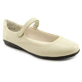 Walking Cradles Jane WW Round Toe Leather Mary Janes