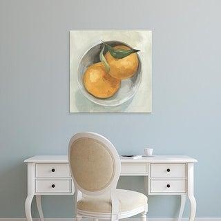 Easy Art Prints Emma Scarvey's 'Fruit Bowl II' Premium Canvas Art