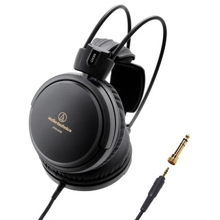 AudioTechnica ATH-A550Z Art Monitor Over-Ear Closed-Back Dynamic Headphones (Black)