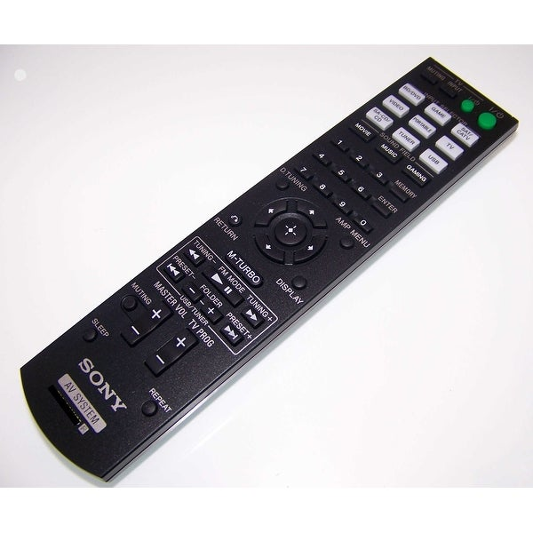 OEM Sony Remote Control Originally Shipped With: HTM2, HT-M2, HTM3, HT-M3, HTM5, HT-M5
