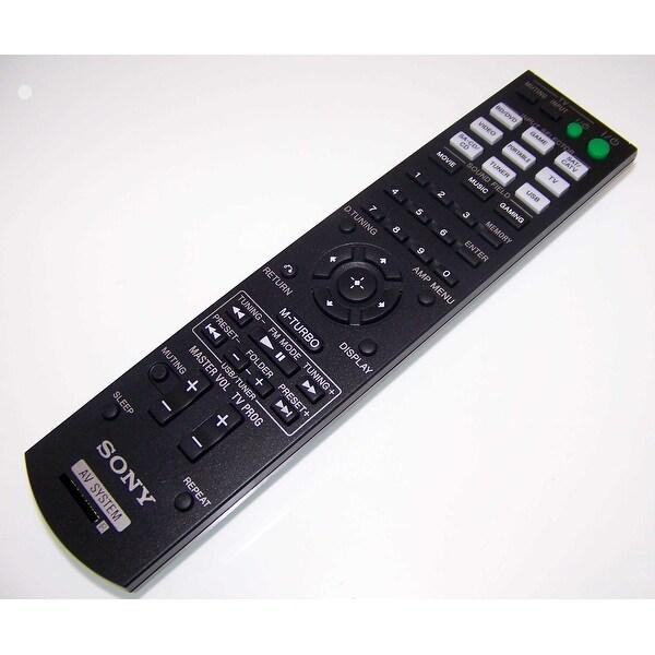 OEM Sony Remote Control Originally Shipped With: HTM7, HT-M7, STRKM2, STR-KM2, STRKM3, STR-KM3