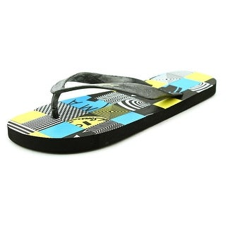 Maui And Sons David Men Open Toe Synthetic Flip Flop Sandal