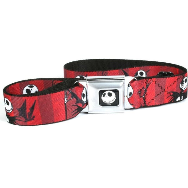 Nightmare Before Christmas Jack Expressions Seatbelt Belt