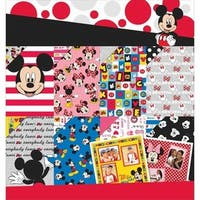 EK Success E5100125 Disney Paper Pad 12 x 12 in. - Mickey & Friends