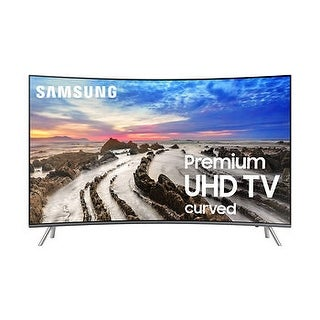 Samsung UN55KS850D Curved 55-Inch 4K Ultra HD Smart LED TV (Refurbished)