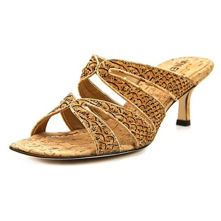 Vaneli Matilda Women  Open Toe Synthetic Tan Sandals