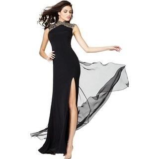 JVN by Jovani Womens Formal Dress Chiffon Embellished