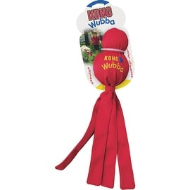 Kong Lrg Wubba Tug Dog Toy