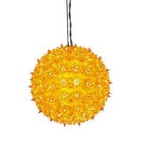 "100Lt x 7.5"" Orange Starlight Sphere"