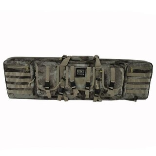 Bulldog Cases BDT60-43AU 43 in.Tactile Rife Bag - Double