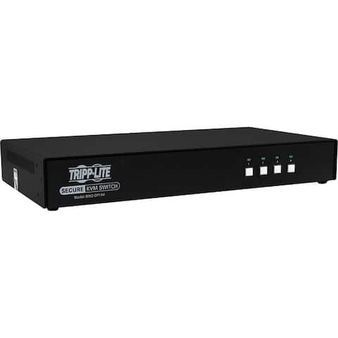 Tripp lite b002-dp1a4 secure kvm switch 4-port niap