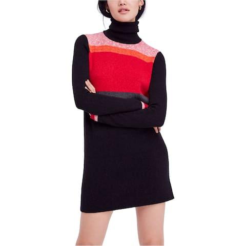 Free People Womens Winter Break Sweater Dress