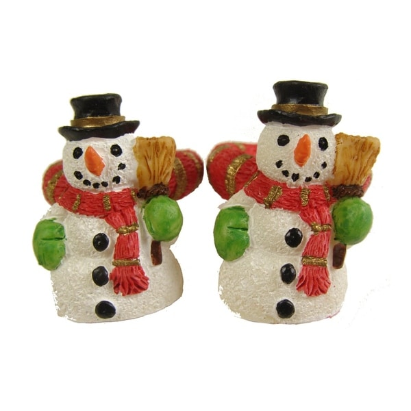 Club Pack of 288 Friendly Snowman Christmas Taper Candle Rings