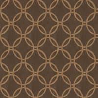 Brewster 2535-20640 Ecliptic Brown Geometric Wallpaper