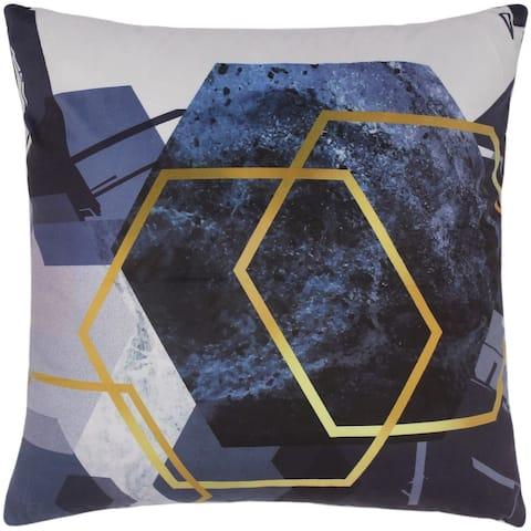 Boho Chic Trotter Printed Italian Velvet Handmade Pillow