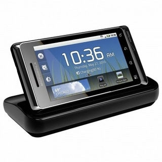 OEM Motorola Multimedia Docking Cradle for Motorola A955, A956, Droid 2 (Black)