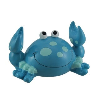 Happy Crab Bobble Claw Coin Bank - 4 X 6.5 X 3.75 inches