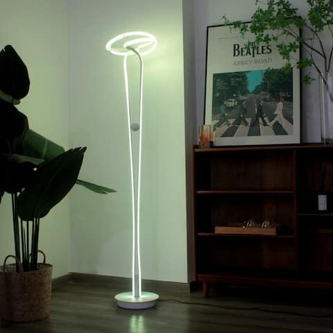 Postmodern RGB Floor Lamp - 63.4x9.8in